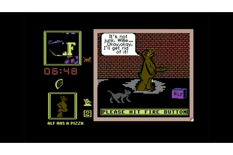 Obscure Game Theater - ALF - C64 - YouTube