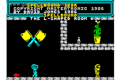 Spellbound - Sinclair ZX Spectrum - Games Database