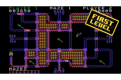 Pepper II First Level ColecoVision Retrogaming Video Games ...