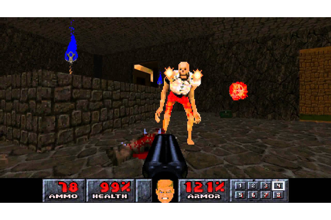 PSX Final Doom TC - Level 10: Paradox - YouTube
