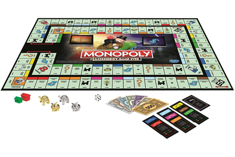"The New Monopoly ""Longest Game Ever"" Edition Sounds Like ..."