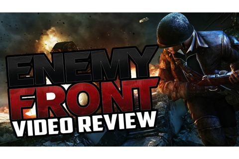 Enemy Front PC Game Review - YouTube