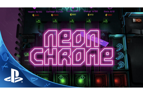 Neon Chrome - Launch Trailer | PS4 - YouTube