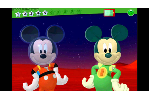 Mickey Mouse Clubhouse Space Adventure Treasure Hunt Free ...