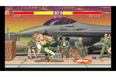 Street Fighter 2 Champion Edition | Ryu vs Guile - YouTube