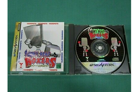 Sega Saturn -- Funky Head Boxers -- *JAPAN GAME* SS. 17133 ...