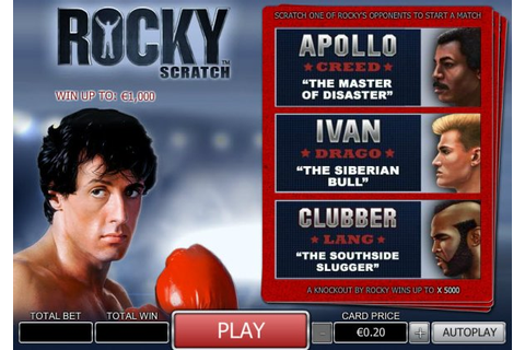 Disarray Magazine: Rocky In Gaming: Will Latest Sequel ...