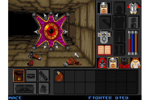 Black Crypt - The Company - Classic Amiga Games