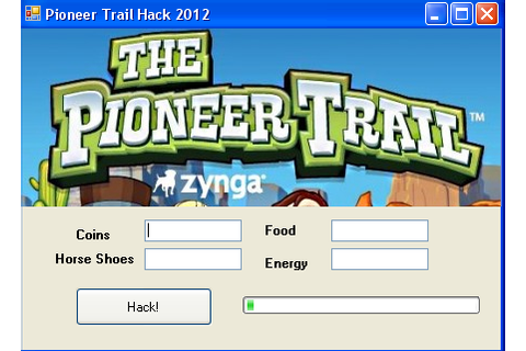 Fresh game cheats: The Pioneer Trail Hack 2012