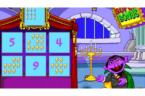Sesame Street: Get Set to Learn! - The Count Matching Game ...