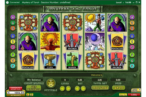 Mystery of the Tarot Slot review from Random Logic