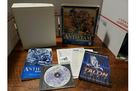 Battleground 5 Antietam PC CD control confederate, union ...