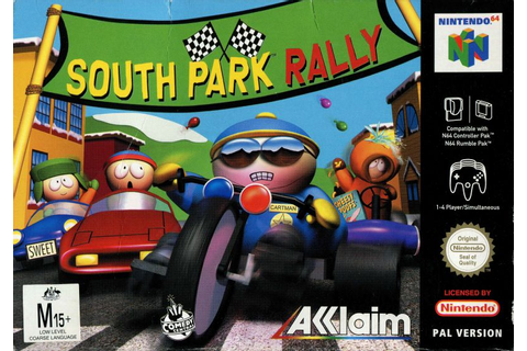 South Park Rally for Nintendo 64 (2000) - MobyGames