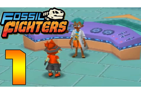 Fossil Fighters (DS) Part 1 (A Warm Welcome) - YouTube