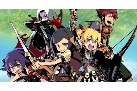 VIZ | Blog / VIDEO GAME: Etrian Odyssey 4