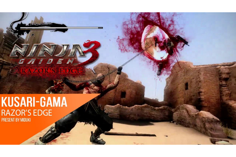 [60fps] Weapon Spotlight: Kusari-Gama - NINJA GAIDEN 3 ...