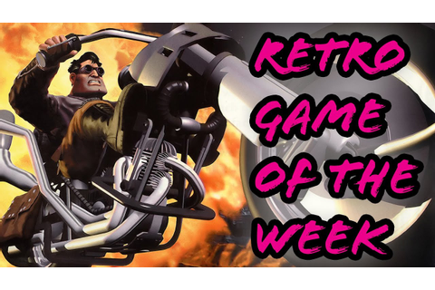 Retro game of the week - Full Throttle (PC) - YouTube