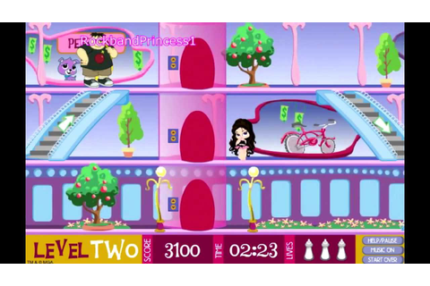 Bratz Online Games Bratz Babyz Mall Crawl Game - YouTube