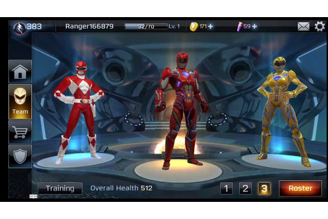 Power Rangers Super Legends -Android Game Play #001 HD ...