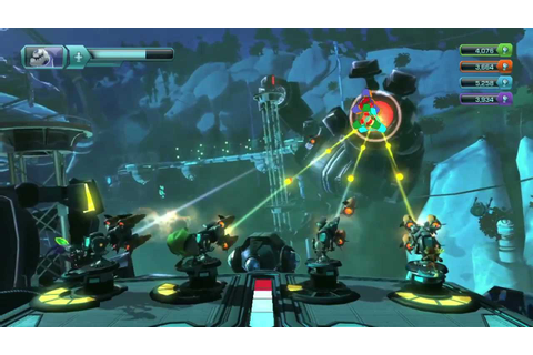 PAX 2011: Ratchet & Clank: All 4 One Gameplay Video (PS3 ...