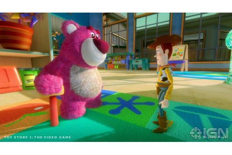First toy story 3 videogame screenshots