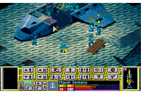 X-COM : Terror From The Deep | Old MS-DOS Games | Download ...