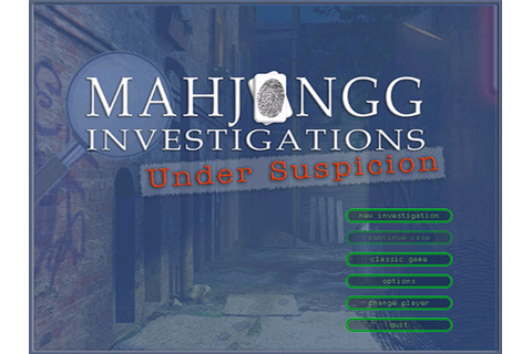 Mahjongg Investigations - Under Suspicion | GameHouse