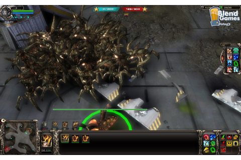 BattleSwarm: StarCraft Meets Starship Troopers RTS Screenshots