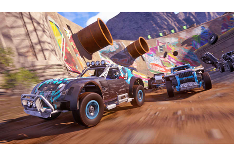 ONRUSH – PS4 Code Giveaway For Codemaster's Smashing Racer