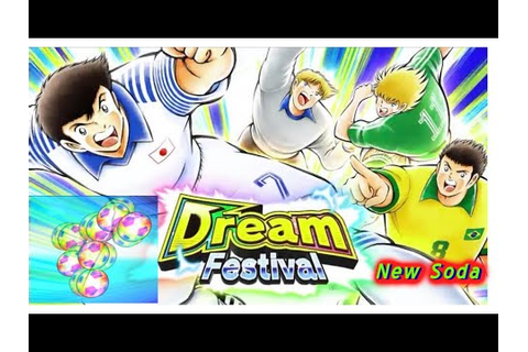 Captain Tsubasa Dream Team-DREAM FESTİVAL SODA | game tv ...