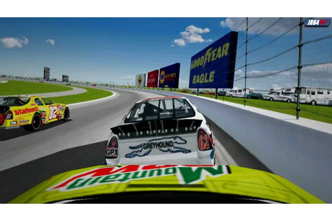 Nascar Racing 4 - Crashes from the past - YouTube