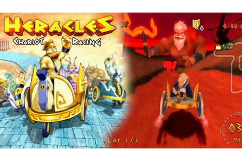Heracles Chariot Racing ... (PS2) - YouTube