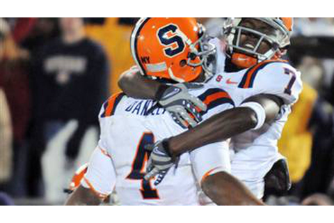 The Ten Best Syracuse Football Games Of The Aughts - Troy ...