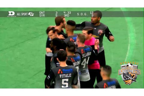 Syracuse Silver Knights vs Ontario Fury Game Highlights ...