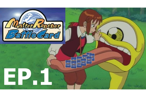 Monster Rancher Battle Card PSX Game Ep.1 - YouTube