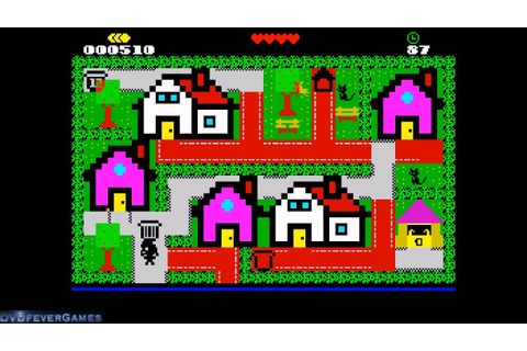 Trashman: Crisis Time - ZX Spectrum 2020 game - Gameplay ...
