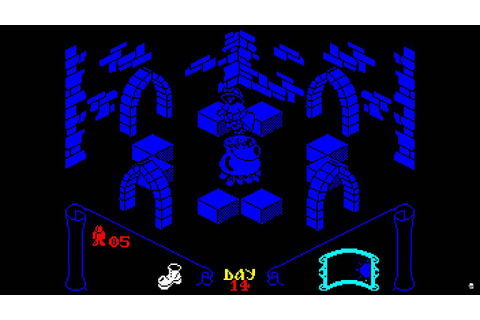 Knight Lore Ultimate ZX Spectrum - YouTube