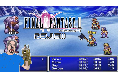 Final Fantasy II Review (PSP) - YouTube