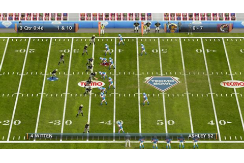 Tecmo Bowl Throwback due for Xbox Live Arcade and ...