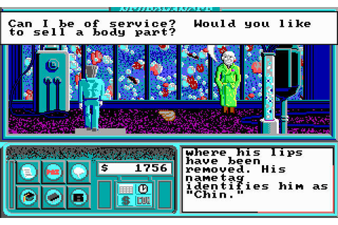 Download Neuromancer adventure for DOS (1989 ...