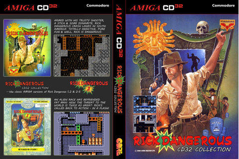 Indie Retro News: Rick Dangerous Compilation - An ...