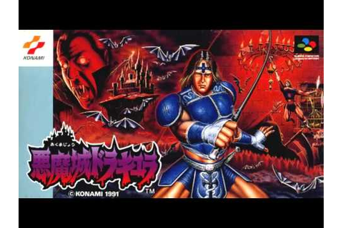 Akumajou Dracula-Super Famicom Game Rip Soundtrack - YouTube