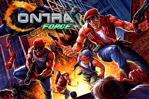 Contra Force Konami Java Games - preferred game