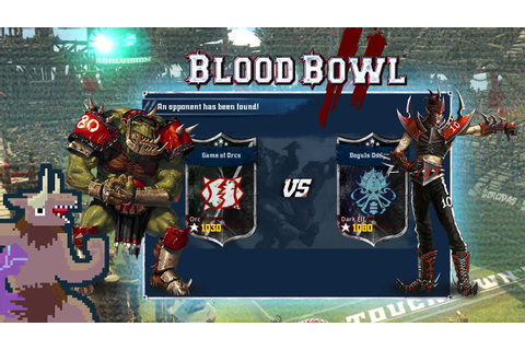 Blood Bowl 2 - Game of Orcs v. Dark Elf - Match 3 - YouTube