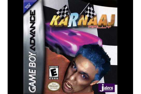 Karnaaj Rally (GBA) Music - Theme Song - YouTube