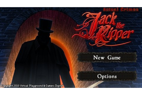 Free Everything For you: Real Crimes Jack the Ripper | PC ...