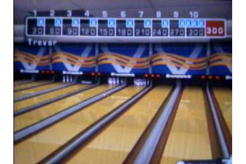 Brunswick Pro Bowling Wii: How to roll a 300 game - YouTube