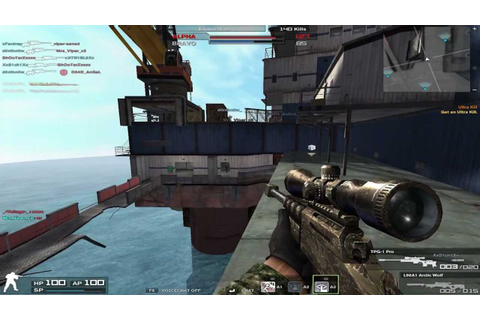 Combat Arms Gameplay - Oil Rig | Sniper Only - YouTube