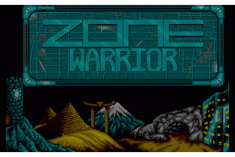 Zone Warrior (1991) by Imagitec Design Amiga game