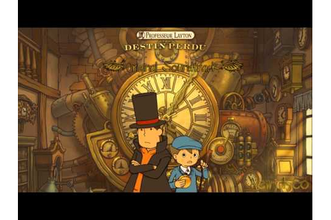 Professeur Layton Et Le Destin Perdu OST - 13 With Memory ...